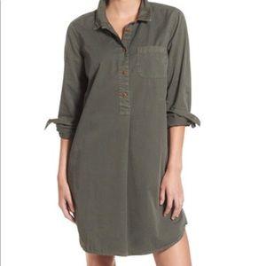 Madewell Olive Khaki Tunic Dress